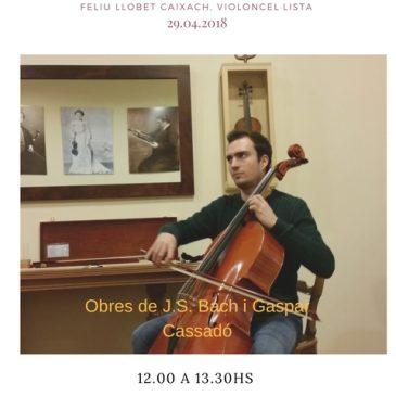 Programa inauguració de l'Espai del Silenci de Caldes d'Estrac – Barcelona.