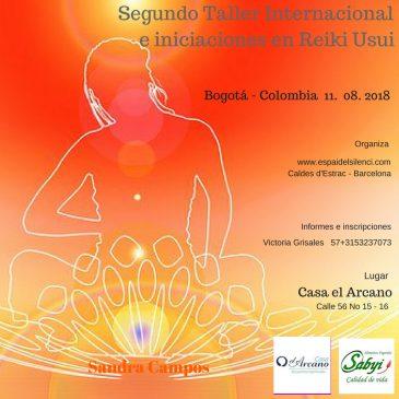 Taller Internacional e iniciaciones en Reiki – SEGUNDO TALLER  Bogotá