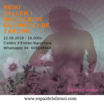 Reiki – Talleri iniciacions Equinocci de Tardor – 2018