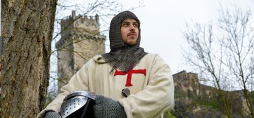 CUARTO RECORRIDO: Fundada por un caballero Templario